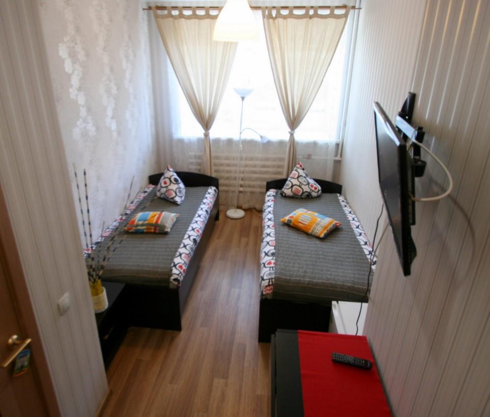 Две отдельные кровати для двух отдельных путешественников